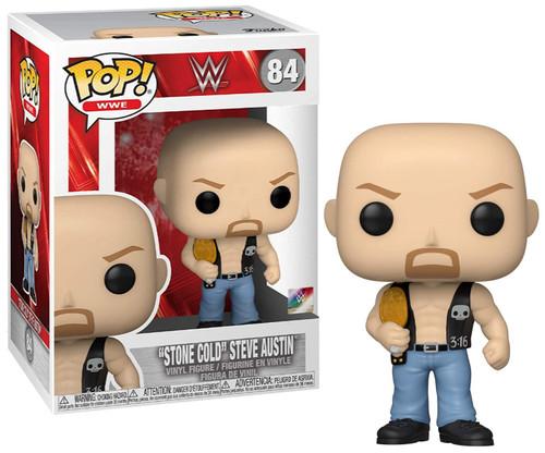 Funko WWE Wrestling POP! WWE Stone Cold Steve Austin Vinyl Figure [with Belt]
