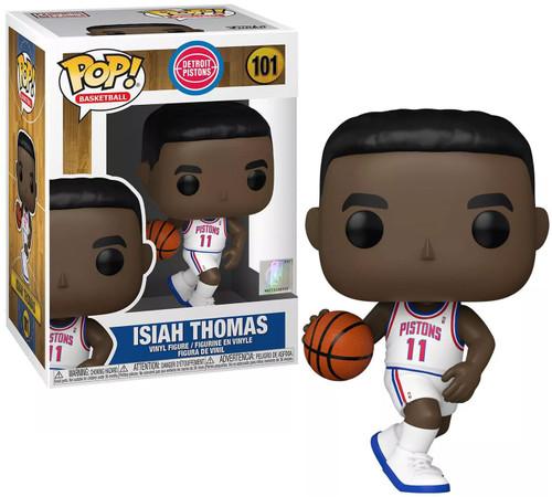 Funko NBA Legends POP! Sports Basketball Isiah Thomas Vinyl Figure [Pistons Home] (Pre-Order ships April)