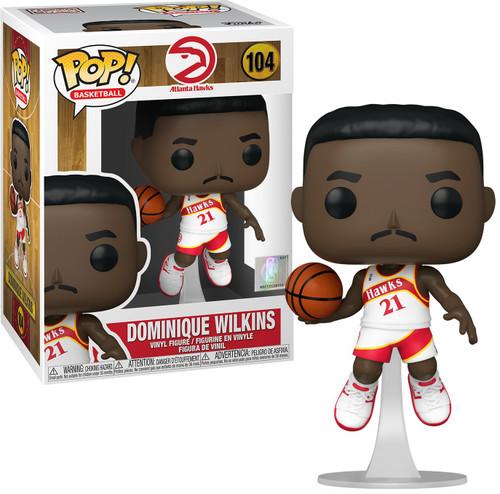 Funko NBA Legends POP! Sports Basketball Dominique Wilkins Vinyl Figure [Hawks Home] (Pre-Order ships April)