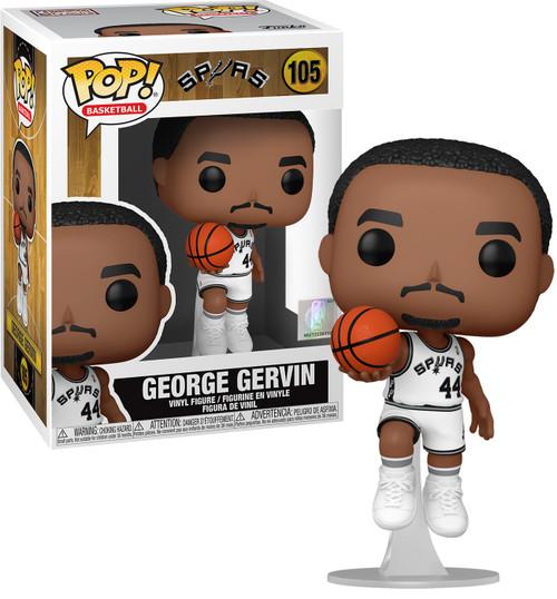 Funko NBA Legends POP! Sports Basketball George Gervin Vinyl Figure [Spurs Home] (Pre-Order ships April)