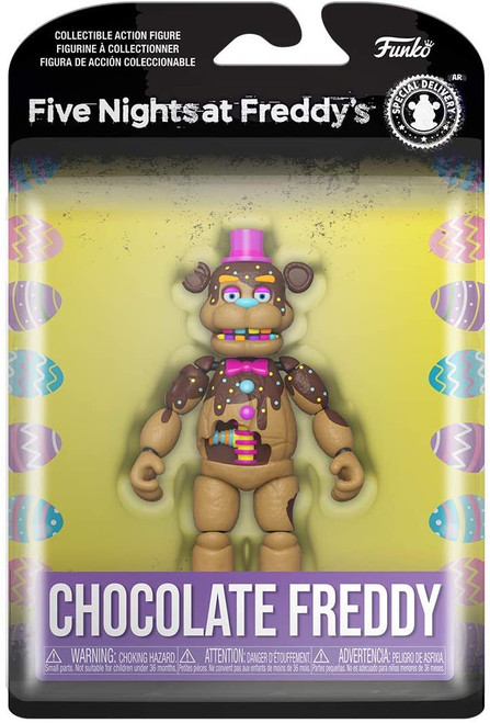 Funko Five Nights at Freddy's Chocolate Freddy Action Figure (Pre-Order ships April)