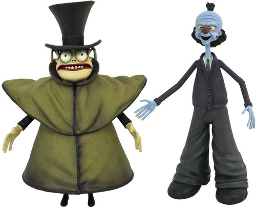 Nightmare Before Christmas Series 10 Mr. Hyde with Corpse Dad Action Figure 2-Pack