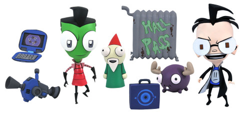 Invader Zim Select Series 1 Boy-Disguise Zim & Dib Action Figure (Pre-Order ships July)