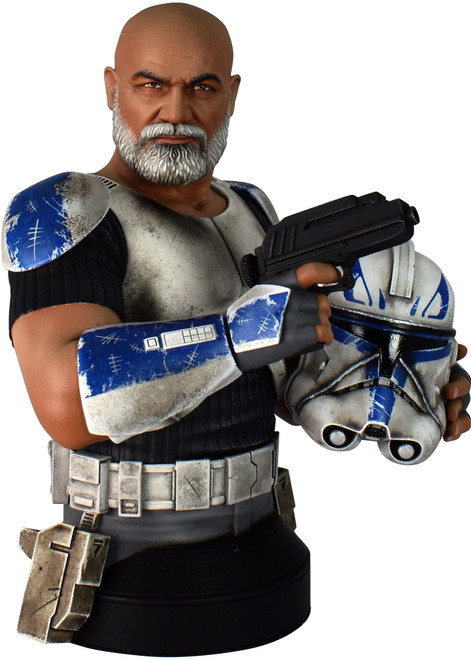 Star Wars: The Clone Wars Commander Rex Limited to 2500 Mini Bust (Pre-Order ships July)