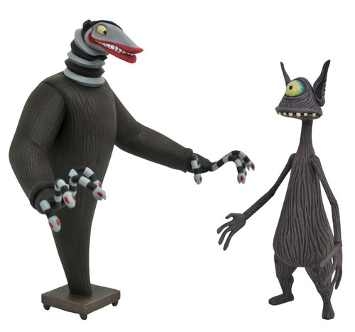 Nightmare Before Christmas Creature Under the Stairs & Cyclops Action Figure 2-Pack