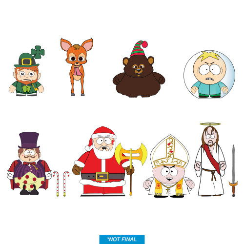 South Park Vinyl Mini Figure Imaginationland 3-Inch Mystery Box [24 Packs] (Pre-Order ships October)