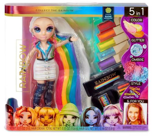 Rainbow High Hair Studio Amaya Raine Deluxe Doll