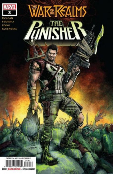 Marvel War of the Realms: Punisher, Vol. 1 #3A Comic Book
