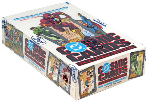 DC Inaugural Edition Cosmic Cards Trading Card Box [36 Packs]