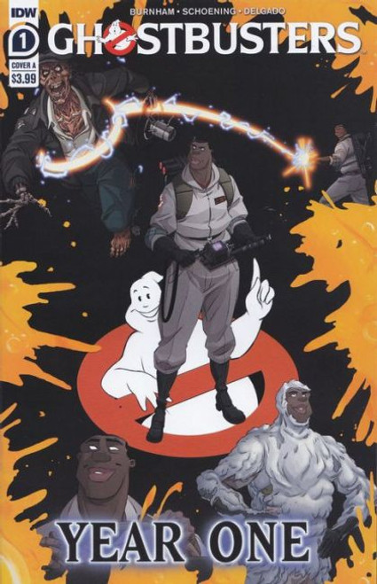 IDW Publishing Ghostbusters: Year One #1A Comic Book
