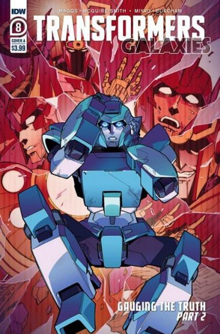 IDW Publishing Transformers: Galaxies #8A Comic Book