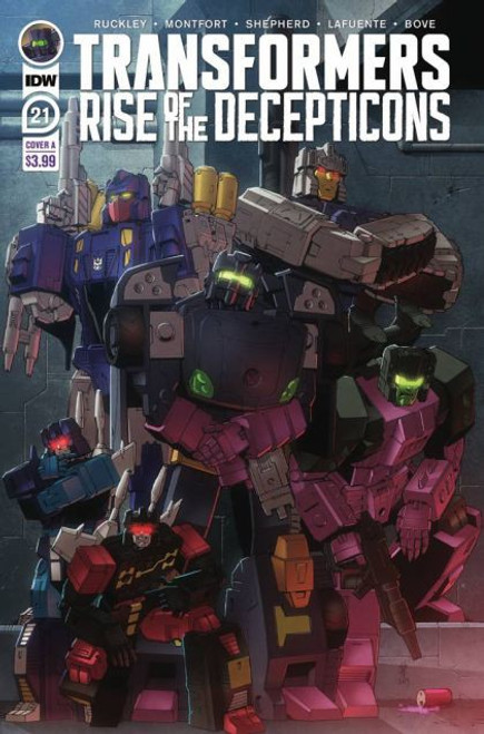 IDW Publishing The Transformers (2019) #21A Comic Book