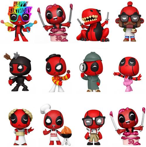 Funko Marvel Mystery Minis Deadpool 30th Mystery Box [12 Packs]