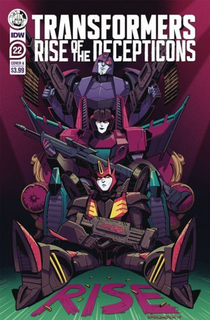 IDW Publishing The Transformers (2019) #22A Comic Book