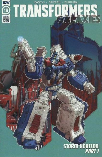 IDW Publishing Transformers: Galaxies #10A Comic Book