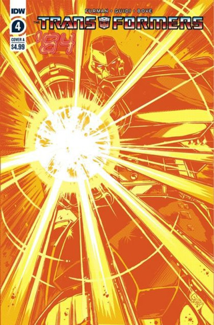 IDW Publishing Transformers '84: Secrets & Lies #4A Comic Book