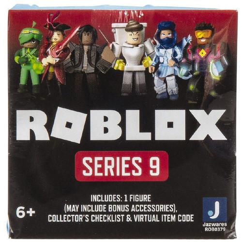 Roblox Series 9 Mystery Pack [1 RANDOM Figure & Virtual Item Code]
