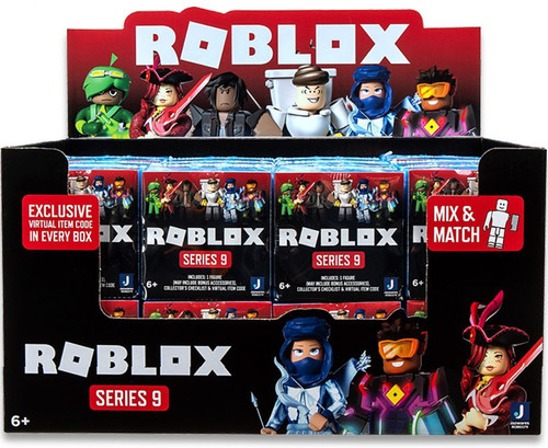Roblox Series 9 Mystery Box [24 Packs] (Pre-Order ships April)