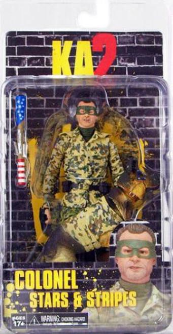 NECA Kick-Ass Kick Ass 2 Series 2 Colonel Stars & Stripes Action Figure [Unhooded]