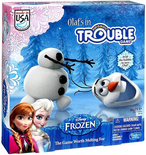 Disney Frozen Olaf's In Trouble Board Game