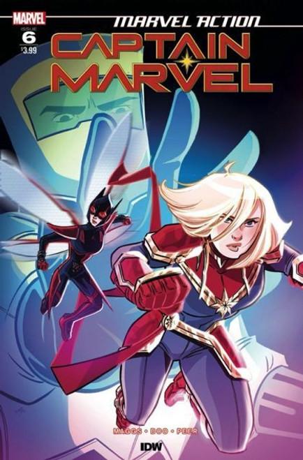 IDW Publishing Marvel Action: Captain Marvel #6A Comic Book