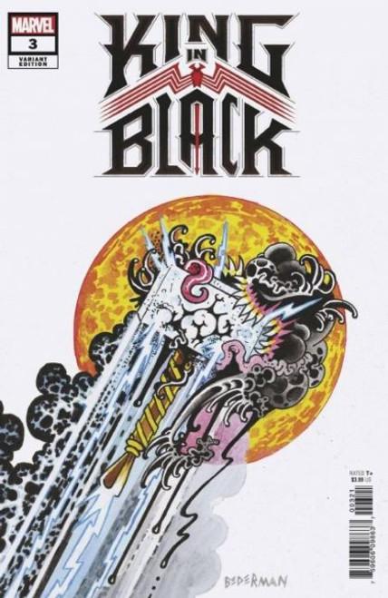 Marvel King in Black #3 Comic Book [Bederman Tattoo Variant]