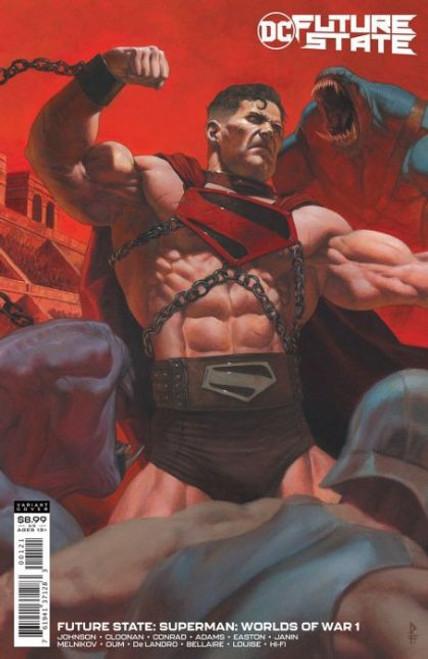 DC Comics Future State: Superman: Worlds of War #1B Comic Book