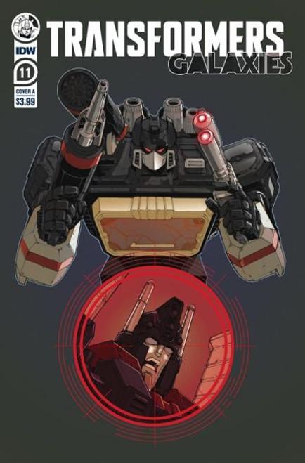 IDW Publishing Transformers: Galaxies #11A Comic Book