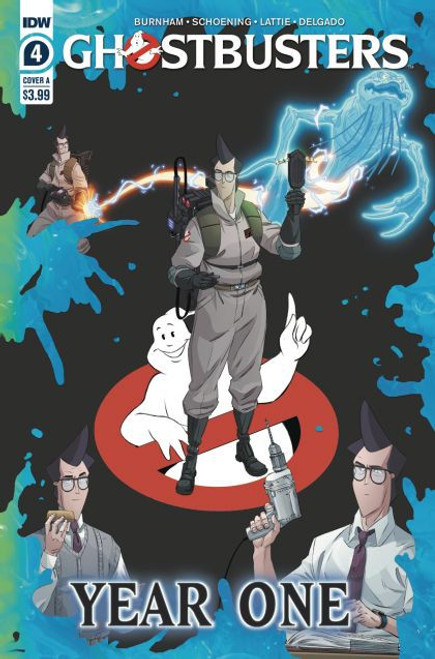 IDW Publishing Ghostbusters: Year One #4A Comic Book
