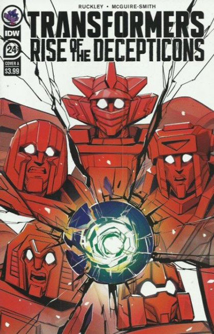 IDW Publishing The Transformers (2019) #24A Comic Book