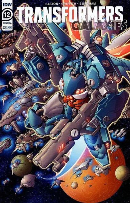 IDW Publishing Transformers: Galaxies #12A Comic Book