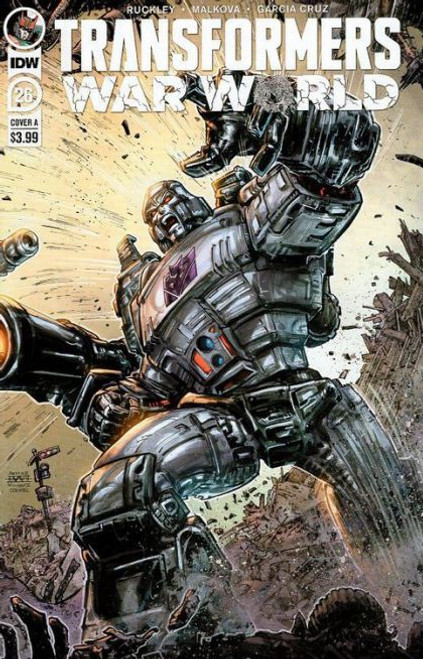 IDW Publishing The Transformers (2019) #26A Comic Book