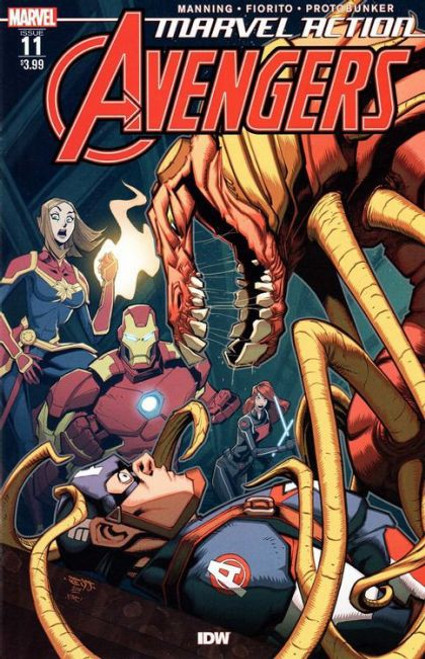 IDW Publishing Marvel Action: Avengers #11A Comic Book