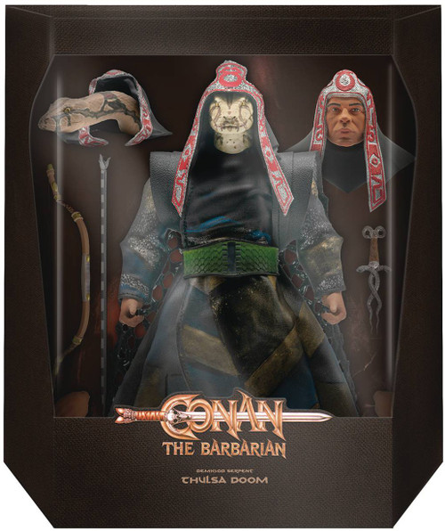Conan The Barbarian Ultimates Snake Preist Thulsa Doom Deluxe Action Figure (Pre-Order ships November)