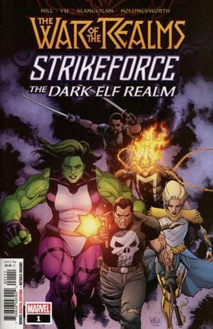 Marvel War of the Realms: Strikeforce - The Dark Elf Realm #1A Comic Book