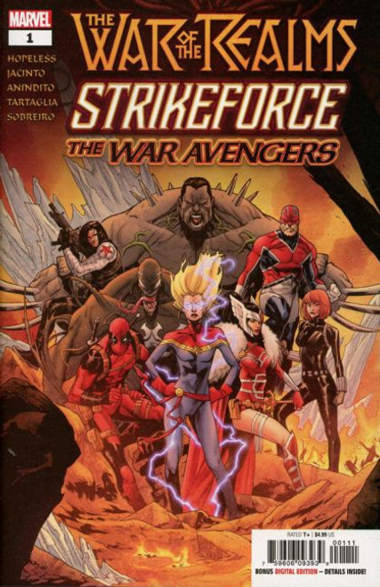 Marvel War of the Realms Strikeforce: The War Avengers #1A Comic Book