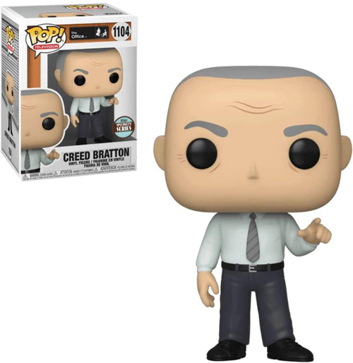 Funko The Office POP! TV Creed Exclusive Vinyl Figure [Regular Version] (Pre-Order ships May)
