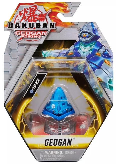 Bakugan Geogan Rising Stardox Single Figure & Trading Card