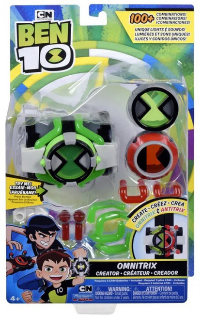 Ben 10 Omnitrix Creator Roleplay Toy