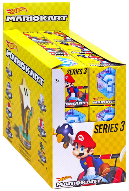 Hot Wheels Mario Kart Series 3 Mystery Box [18 Packs] (Pre-Order ships March)