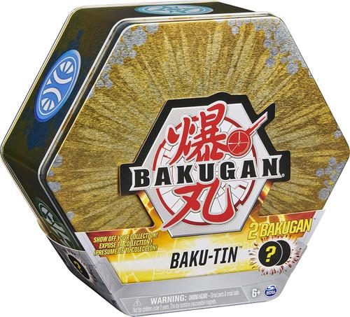 Bakugan Battle Planet Gold Baku-Tin [Includes 2 Mystery Bakugan]