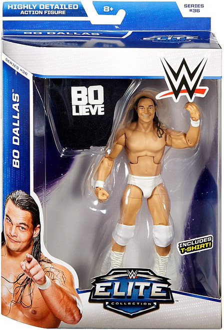 WWE Wrestling Elite Collection Series 36 Bo Dallas Action Figure [T-Shirt, Damaged Package]