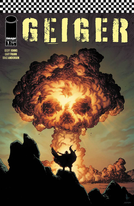 Image Comics Geiger #1 Comic Book [Cover A Frank]