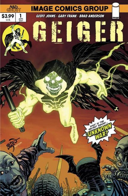 Image Comics Geiger #1 Comic Book [Cover B Larsen]