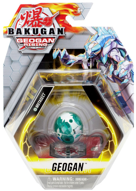 Bakugan Geogan Rising Mutasect Single Figure & Trading Card