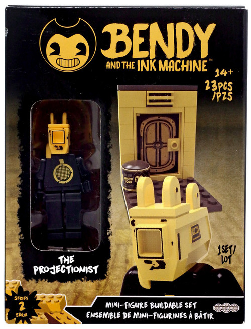 Bendy and the Ink Machine Series 2 Mini Figure The Projectionist Buildable Set