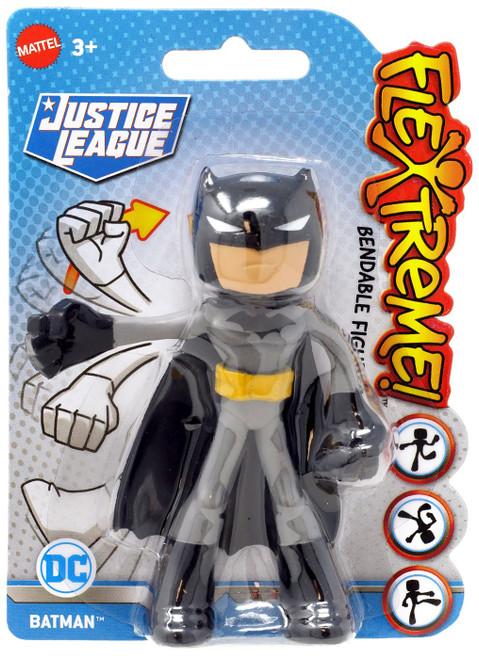 DC Justice League Flextreme Batman Action Figure [Black]