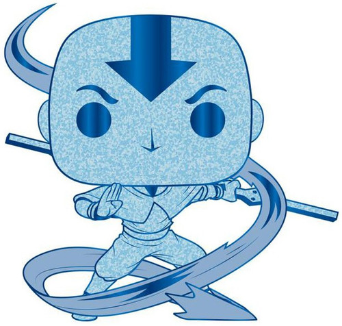 Funko Avatar: The Last Air Bender POP! Aang Large Enamel Pin [Chase Version] (Pre-Order ships February)