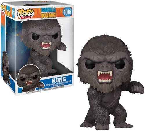 "Funko Godzilla Vs Kong POP! Movies Kong 10-Inch Vinyl Figure [Super-Sized, 10""] (Pre-Order ships May)"