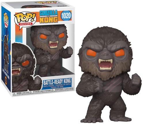 Funko Godzilla Vs Kong POP! Movies Kong Vinyl Figure [Battle Ready, Angry Face!] (Pre-Order ships May)